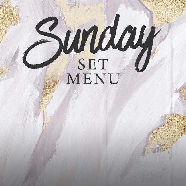 Sunday set menu at The Queen & Castle