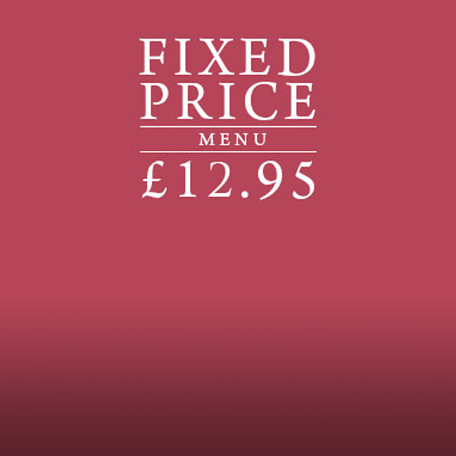 Fixed Price Menu at The Queen & Castle