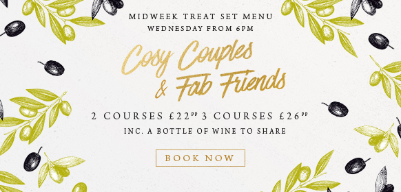 Midweek treat set menu at The Queen & Castle